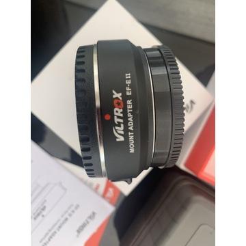 Adapter VILTROX EF-E II Canon EF do Sony E 0.71x