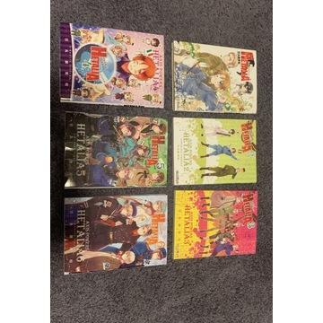 HETALIA Manga - Cała Seria (komplet 6 komiksów)