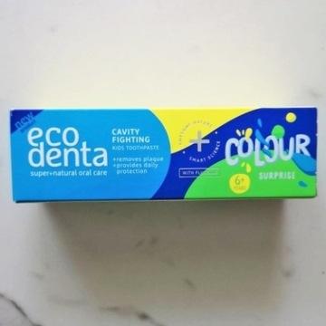 Ecodenta pasta do zębów dla dzieci Kolorowa
