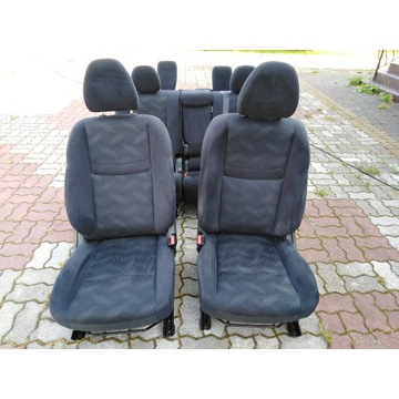 Fotele 7 osobowe Nissan X-Trail T32