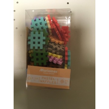 Marioinex Mini wafle, Pastel 70 elementów
