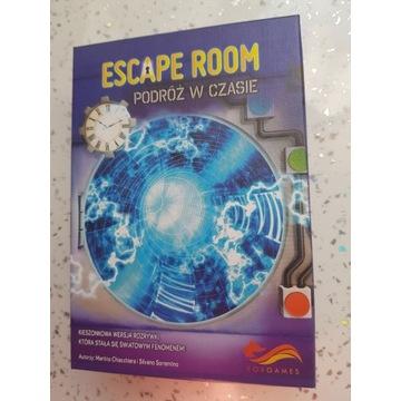 Escape Room Podróż w czasie Foxgames gra karcianka