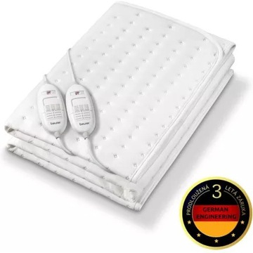 Nakładka elektryczna na  łóżko Beurer TS 26 XXL