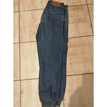 Spodnie Jeansowe Joggery SSG + pasek SSG