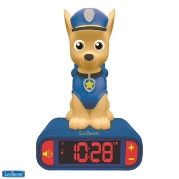Nocny budzik Psi Patrol dla dzieci