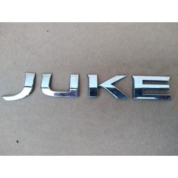 Emblemat tylnej klapy NISSAN JUKE