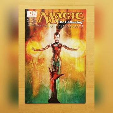 Komiks Magic the Gathering Path of Vengeance