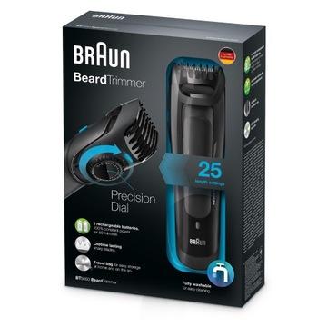 Trymer BRAUN BT5050 ,zasilanie akumulatorowe