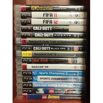 Zestaw gier PS3 #1