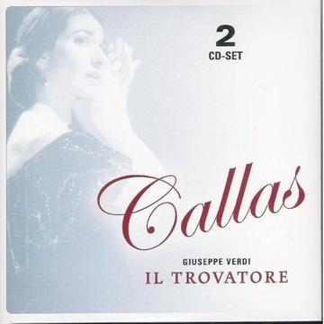 MARIA CALLAS STUDIO Verdi Il Trovatore 2cd