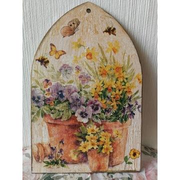 Obrazek drewniany