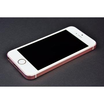 iphone se 32gb różowe złoto, super stan, gratisy!