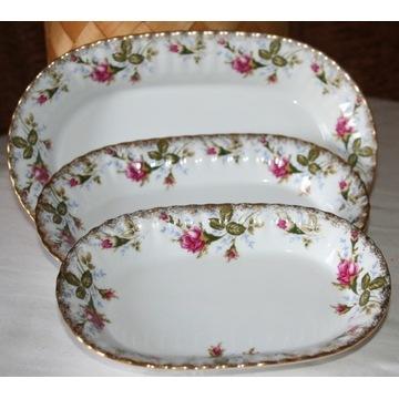 salaterki 3szt porcelana Chodzież