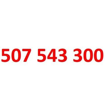 507 543 300 starter orange złoty numer