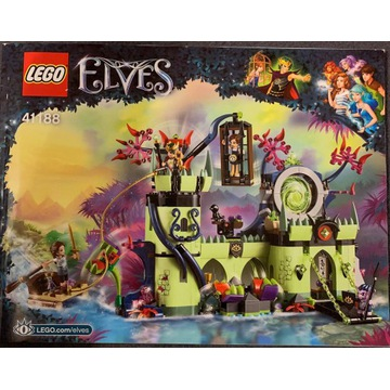lego elves 41188 ucieczka z fortecy króla goblinów