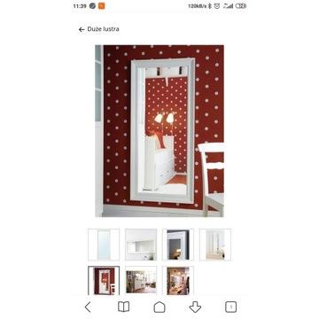 Lustro Ikea Hemnes 165x74