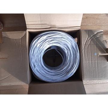 kabel przewód skrętka UTP kat.5E 100% Miedź CU