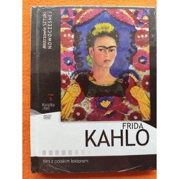 Frida Kahlo DVD fim + książka, nowy w foli