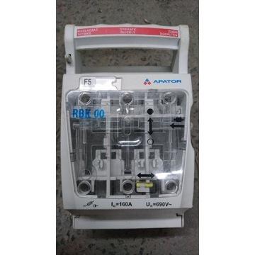 Rozłącznik izolacyjny kasetowy Apator Rbk 00