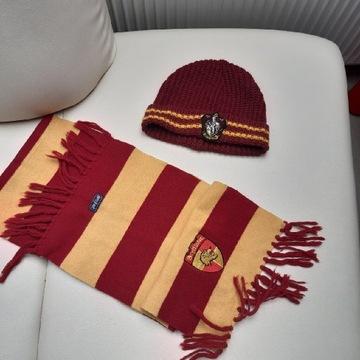 Szalik Czapka Harry Potter  8-10 lat