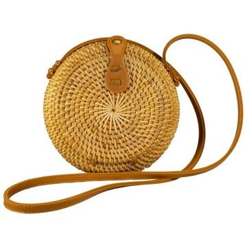 Torebka ratanowa Lombok bag