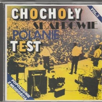CHOCHOŁY, SKALDOWIE, POLANIE, TEST... Mint CD '91