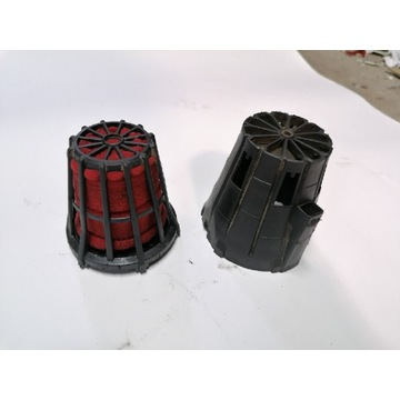 Filtr filter powietrza stożek zabudowany osłona