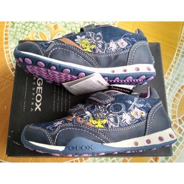 Geox sneakersy ze światełkami - 32 - NOWE