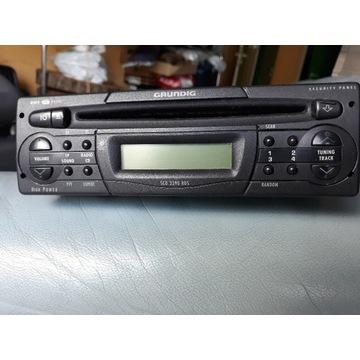 RADIOOTWARZACZ CD GRUNDIG Security panel