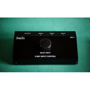 Przełącznik SpeaKa audio video selektor dźwięku