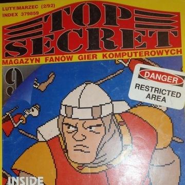 Czasopismo TOP SECRET 9 2/92 ATARI Commodore inne!