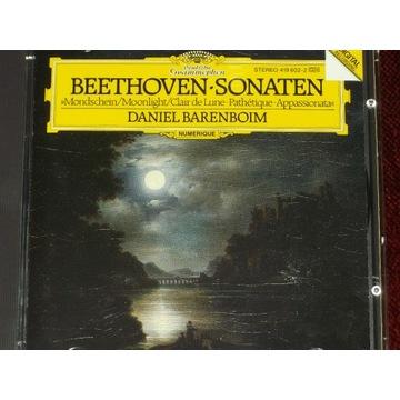 Beethoven Sonaten 8, 14, 23 Barenboim CD 1984