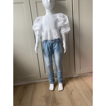 Cocodrillo spodnie jeansy dziewczęce 104