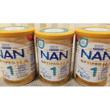 Nestle NAN OPTIPRO H.A. 1 mleko początkowe 3x400g