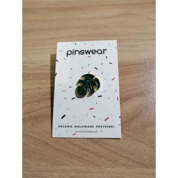 Pinswear Monstera Deliciosa pin przypinka