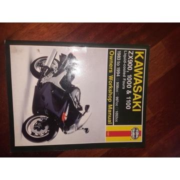 Ksiazka, manual Kawasaki ZX900 1000 1100 Haynes