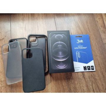 OKAZJA! iPhone 12 Pro 128GB jak nowy, grafit