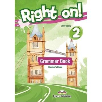 Right on! 2 Grammar Book, Srudent's Book