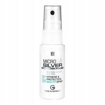 Microsilver Spray do ust ze srebrem świeży oddech
