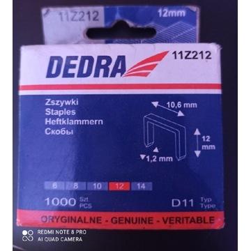 Zszywki D11 DEDRA