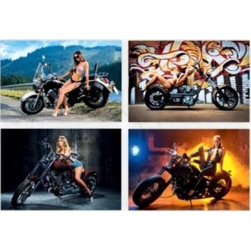KALENDARZ Ścienny 2021 GIRLS&BIKES Laski i Motory