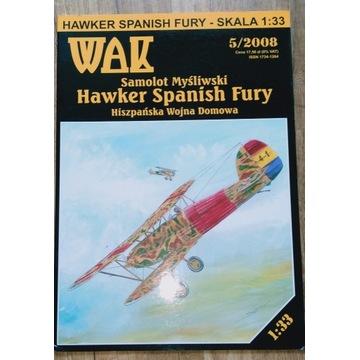 Hawker Fury WAK nr 5/2008