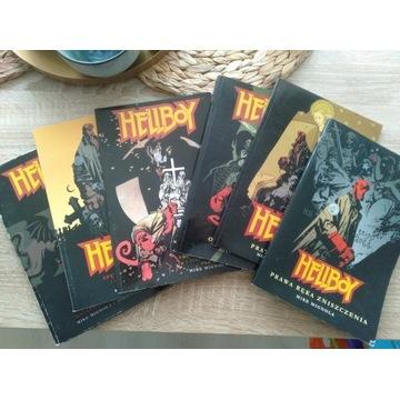 Hellboy zeszyty 1-6 I wydanie