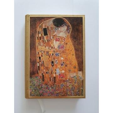 Gustav Klimt The KISS Pocałunek notes zeszyt