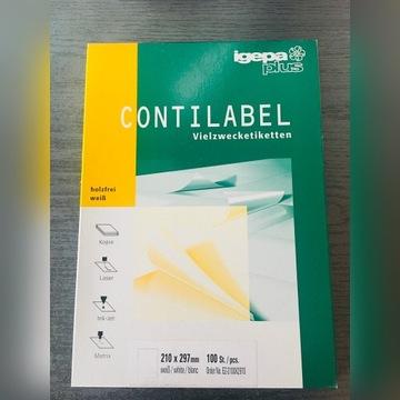 Etykiety samoprzylepne Contilabel