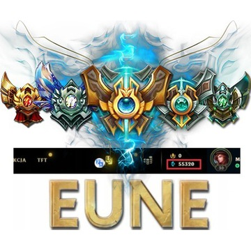League of Legends KONTO LOL EUNE UNRANKED +50k BE