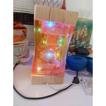 Lampka z żywicy epoksydowej
