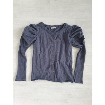 Sweterek z bufami r.134 cm