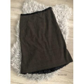 Spódnica Vintage rozm. 38 Zdobiona halka