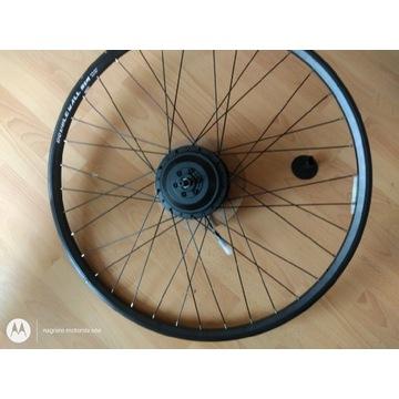 Koło rowerowe 28 cali z silnikiem elektrycznym